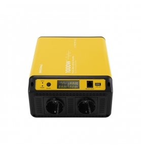 China 1kw 12v 24v 36v 48v dc to ac 230v 1 kw off grid pure sine wave solar charger ups power inverter factory