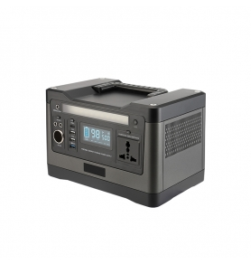 China 500W 220V Portable Power Station 540Wh Lithium Battery Solar Generator factory