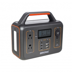China BRIDNA 300W 110v 60hz 26ah 280wh portable power station solar generator with lcd display factory