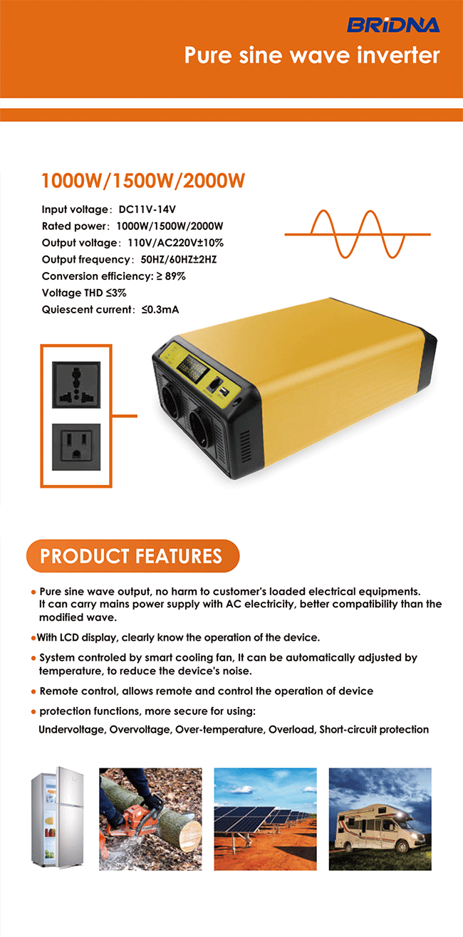 pure sine wave power inverter china factory