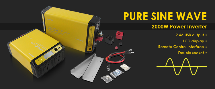 2000W Pure Sine Wave Inverter