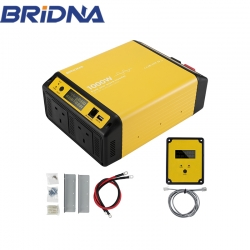 1000w 12v 24v dc to ac 240v 1000 watt off grid pure sine wave power inverter with dual UK socket