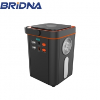 China 120W 13ah 140wh 12v 110v 120 watt solar power station portable solar generator factory